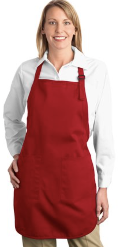 Port Authority® Full-Length Apron with Pockets