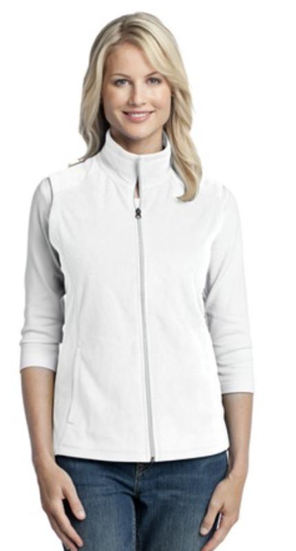 Ladie's Microfleece Vest