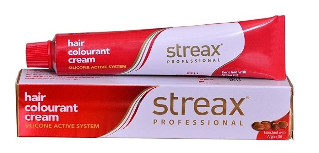 Streax Professional Argansecrets Hair Colourant Creamenriched Withargan Oil Goldenblonde  #7.33