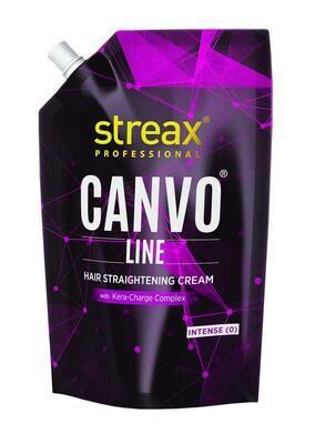 Streax Professional Canvoline Straightening Cream Intense  0 -500 G