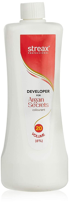 Streax Professional Developer For Argan Secret Colourant 20 Volume -250 Ml