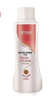 Streax Professional Developerfor Argan Secret Colourant 40Volume -1000 Ml