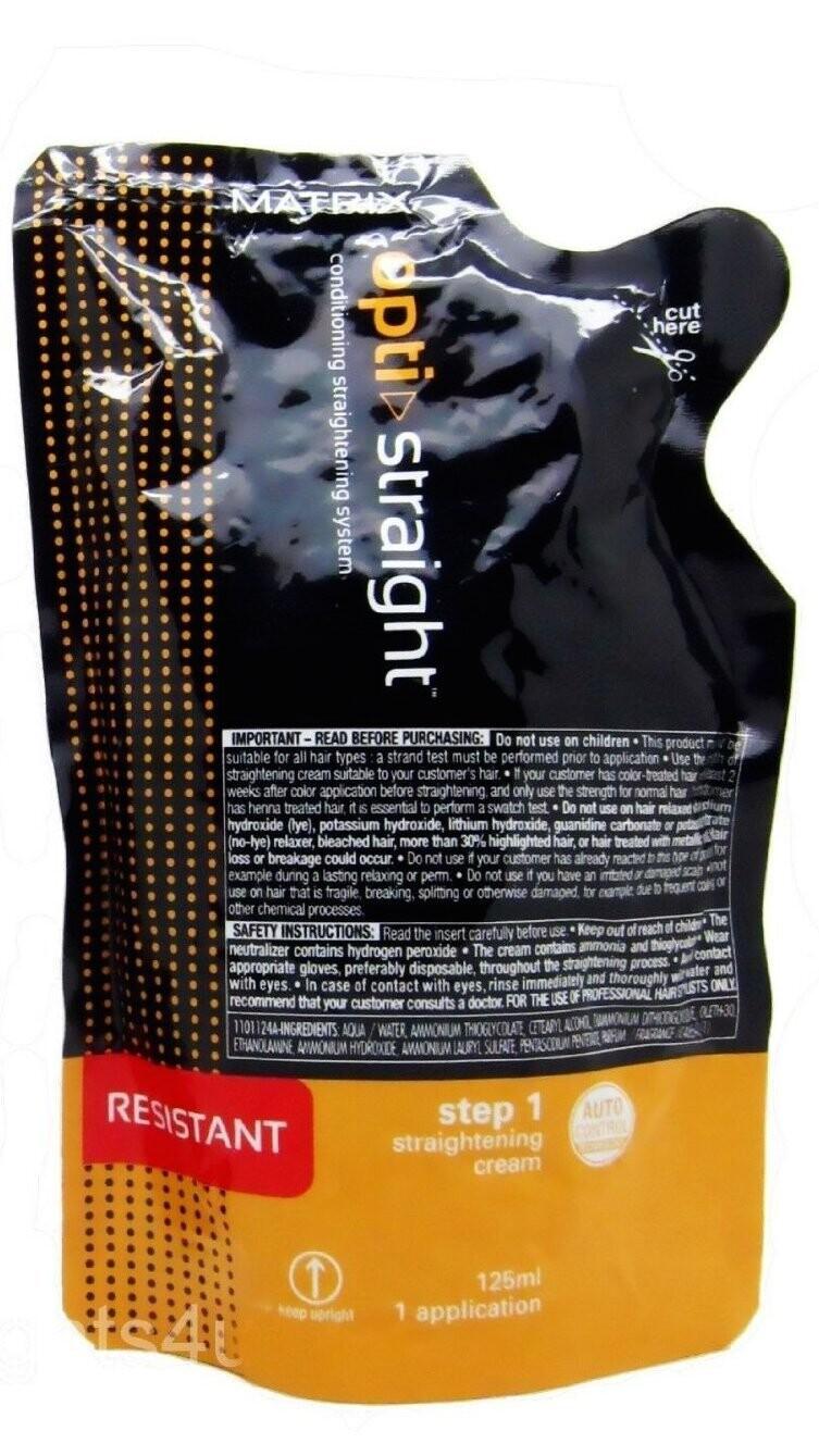 Matrix Opti Straight Resistant Cream 125 Ml