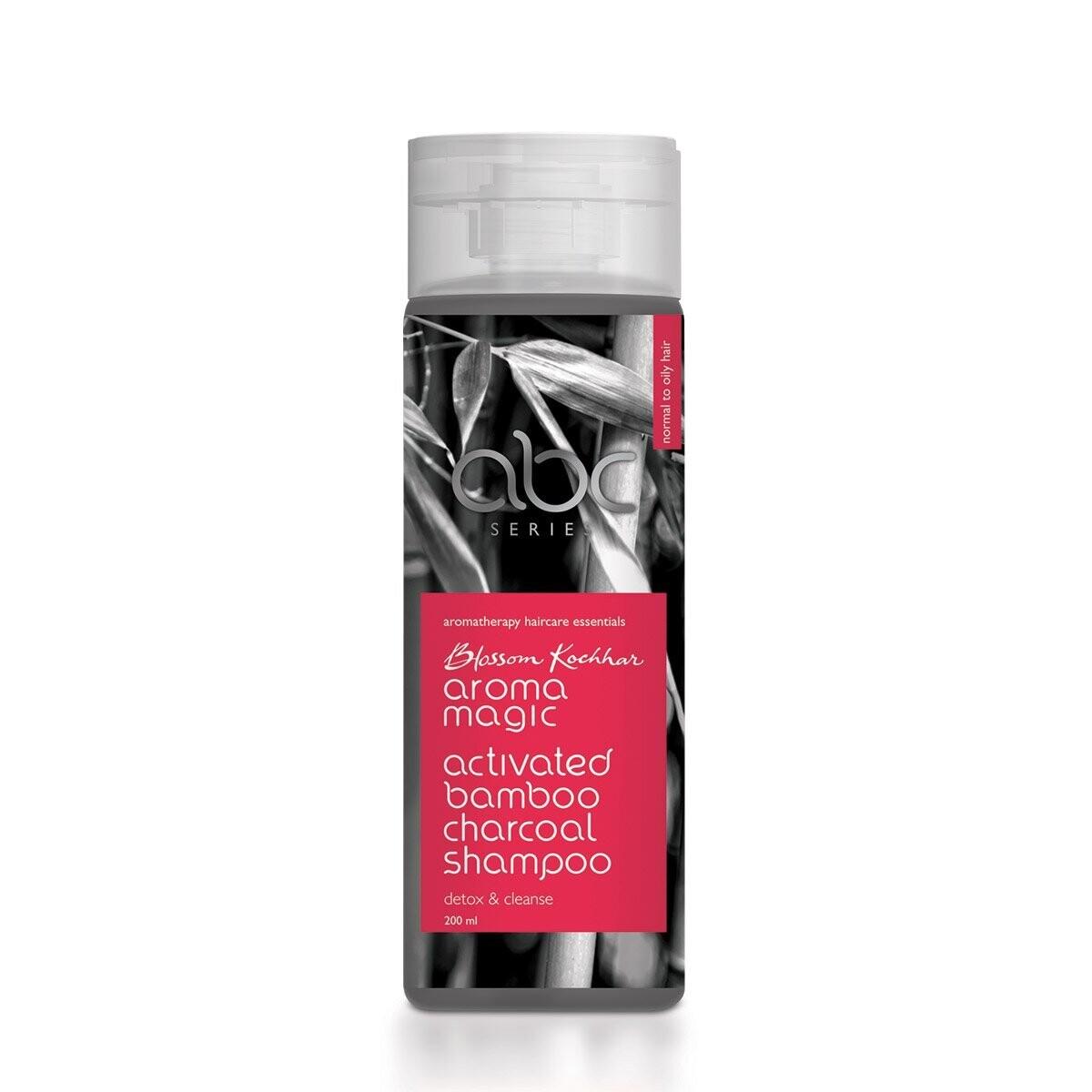 Aroma Magic Activated Bamboo Charcoal Shampoo 200 G