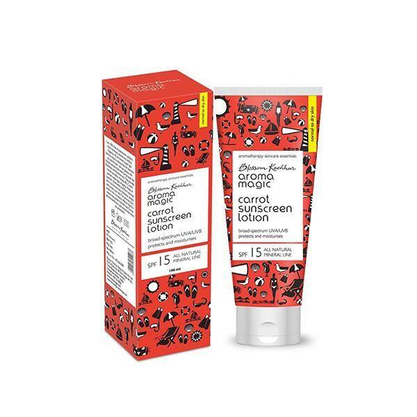 Aroma Magic Carrot Sunscreen Lotion 100 Ml