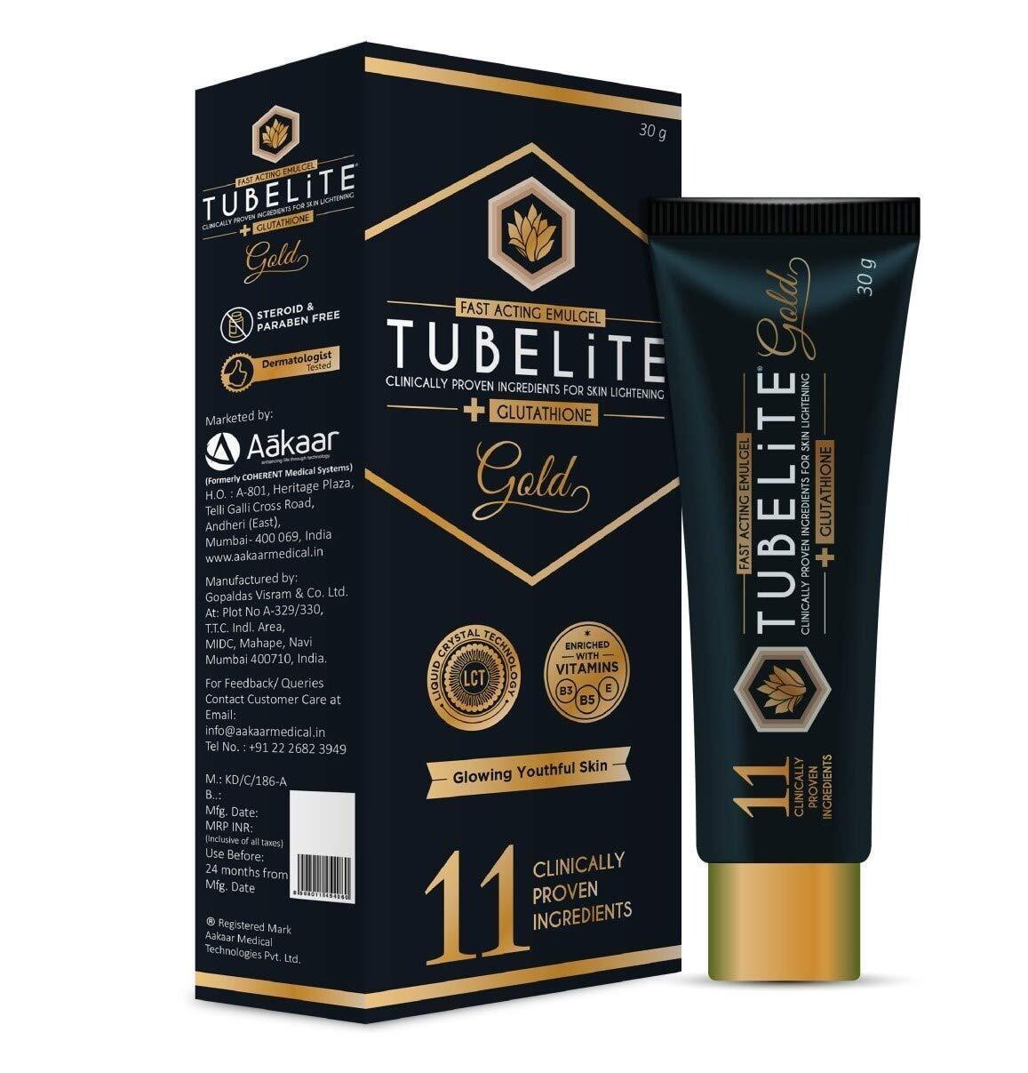 Tubelite Gold Cream 30 G