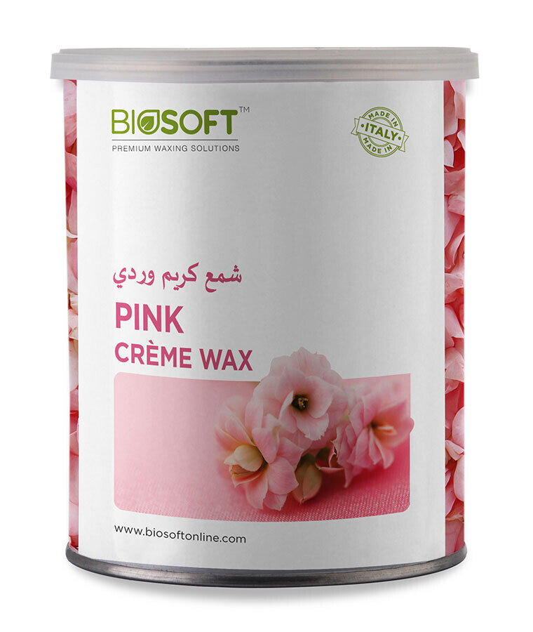 Biosoft Liposoluble Pink Cream Wax 800G