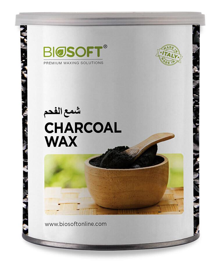 Biosoft Liposoluble Charcoal Wax 800 Ml
