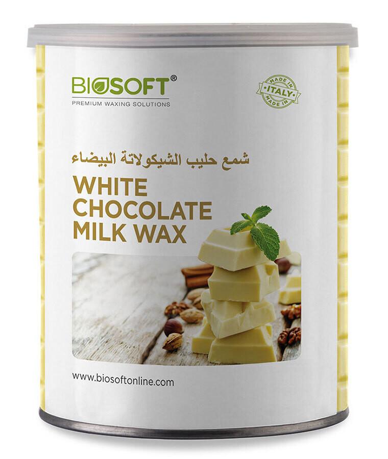 Biosoft Liposoluble White Chocolate Milk Wax 800 Ml