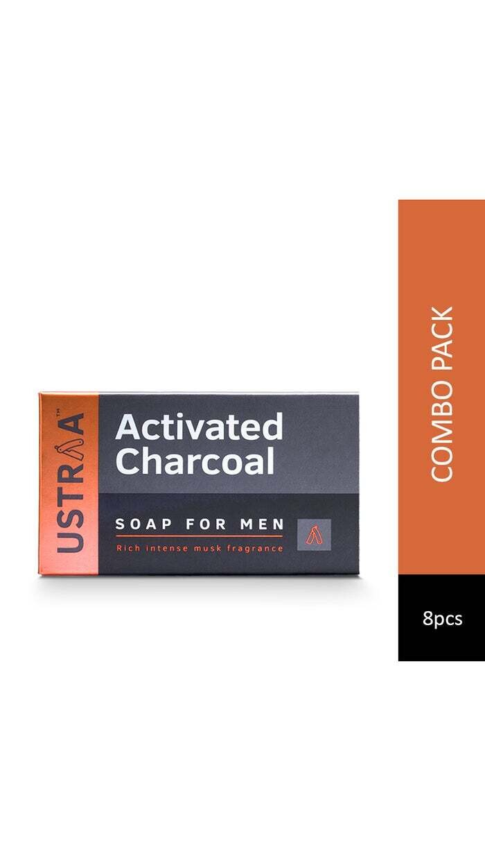 Ustraa Activated Charcoal Soap 100 G