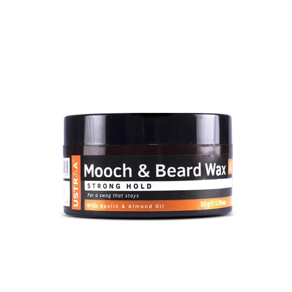 Ustraa Mooch And Beard Wax 50 G