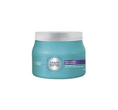 Loreal Hair Spa Smoothing Cream Bath 490 G