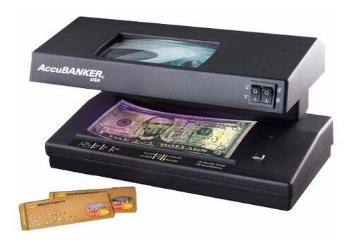 Detector de dinero falso D66 Accubanker