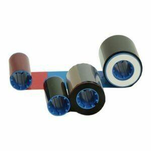 Cinta de color Zebra 800014-945 - YMCK - 600 impresiones para impresora Zebra P620, Zebra P630i, Zebra P640i