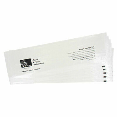 Tarjetas de limpieza Zebra 105912G-707 Alcohol T - Cant. 50 para impresoras P330m, P330i, P430i