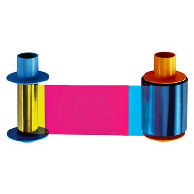 Fargo 45215 Cinta de Color - YMCKK - 500 imágenes para impresoras DTC4500 y DTC4500e