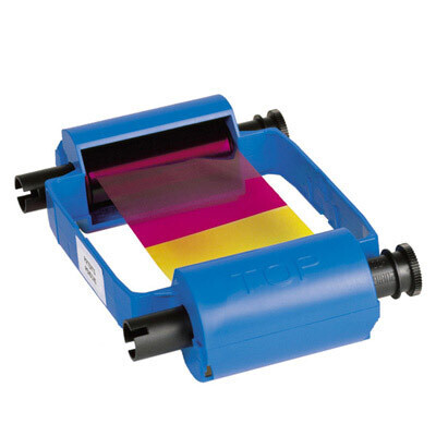 Ribbon o cinta  YMCKO de 100 imágenes para impresora P210i