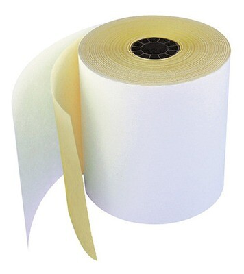 Rollos de papel térmico con una copia tamaño 80 x 75 mm para impresoras EPSON TM-U220