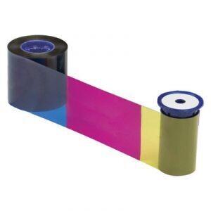 Ribbon Datacard Color - YMCKK - 500 impresiones para impresoras SP75, SP75 Plus y SD460