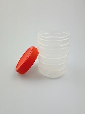 500ml plastic PP potten met schroefdeksel, hot fill