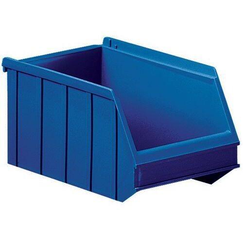 Magazijnbak grijpbakken overtoom Nr.3 - 250x150x130 4l blauw