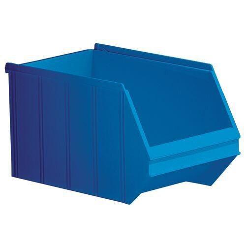 Magazijnbak grijpbakken overtoom Nr.2 - 350x205x200 14l blauw