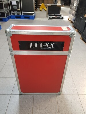 Flightcase koffer staand - Rood