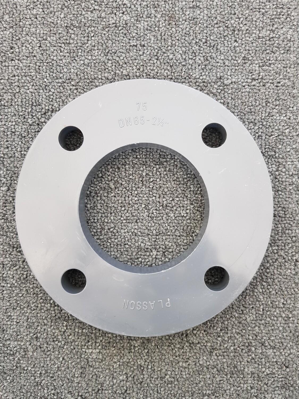 Plasson flens PVC - 4 gaten