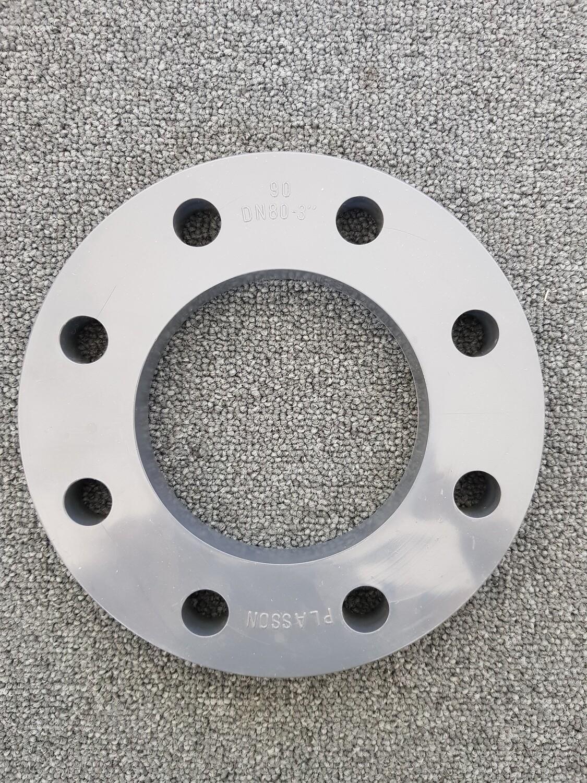 Plasson flens PVC - 8 gaten