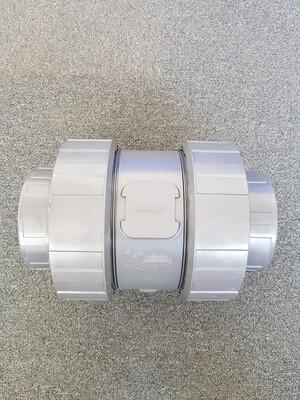 Plasson terugslagklep PVC