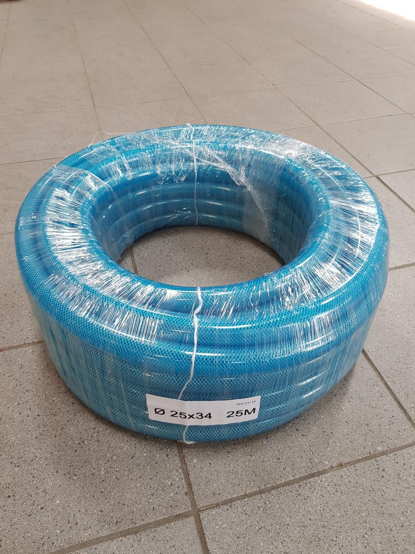 Water/olie/lucht slang - blauw
