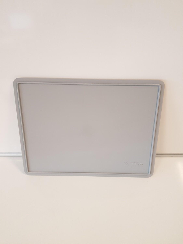 40x30 deksel, grijs, PP, gebruikt