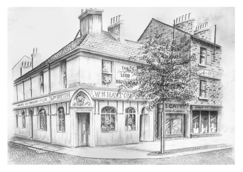 The Lord Broughton Pub c.1930