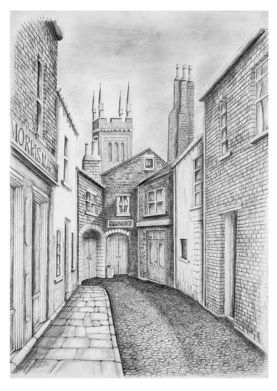 Crosby Court Crosby Street just off Warwick road Carlisle. Circa 1930