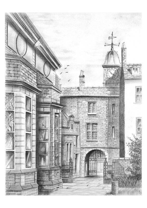 Tullie House, Carlisle. c1930