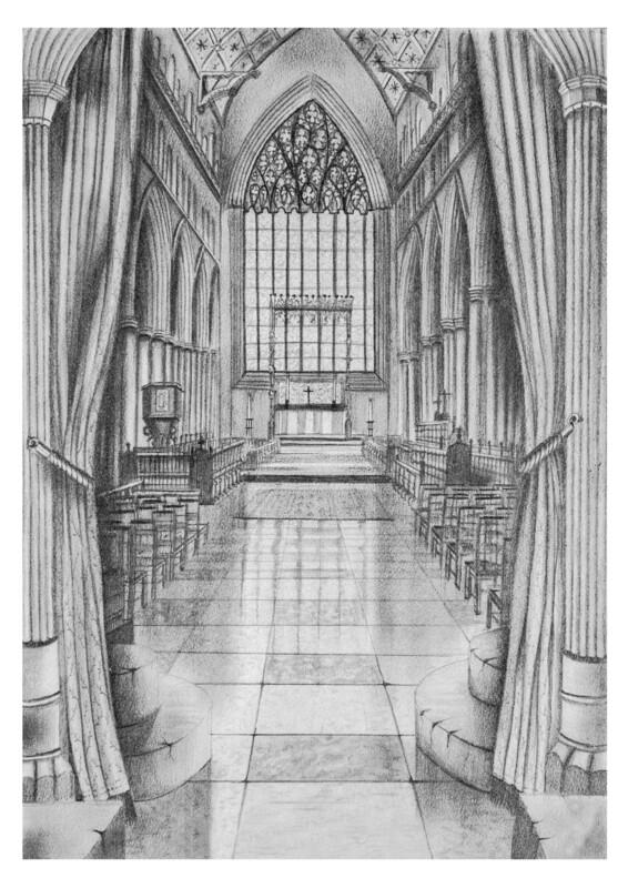 Carlisle Cathedral East Window Circa 1930