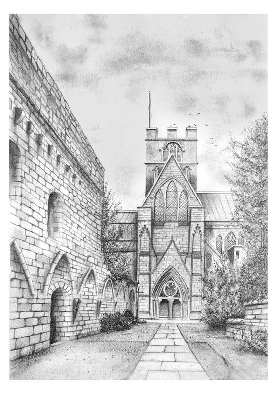 Carlisle Cathedral South Transept. Circa 1930
