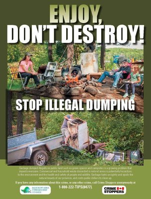 """Stop Illegal Dumping"" Materials"
