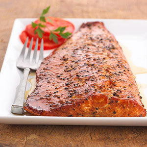 Wild Alaskan Smoked Salmon Full Fillet (Cracked Pepper)