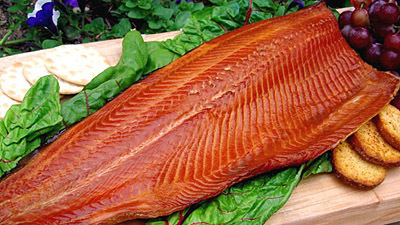 Wild Alaskan Smoked Salmon Full Fillet (Original)