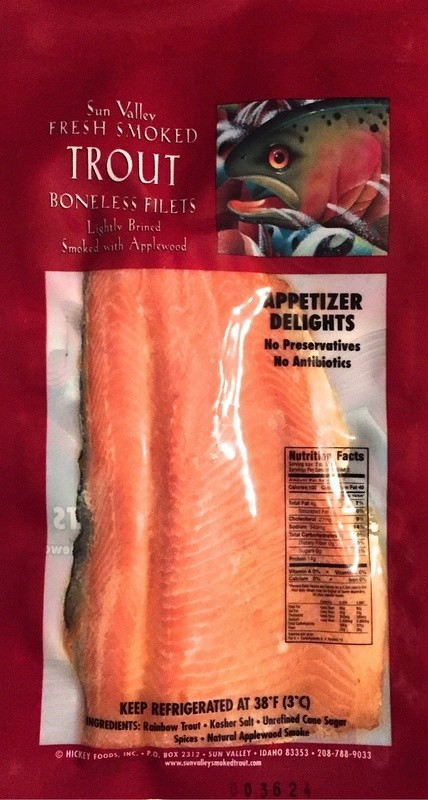Smoked Rainbow Trout Fillet 5 Pack (Original)
