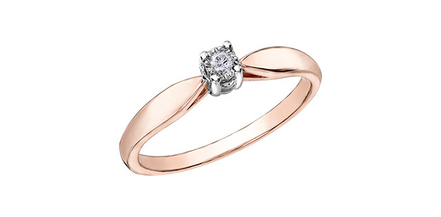 10KRG DIA SOLITAIRE RING