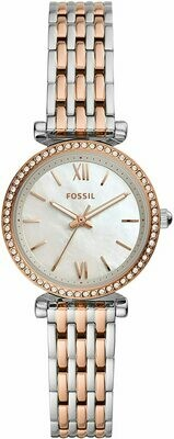 FOSSIL LDS WATCH MOP FACE W/CRY