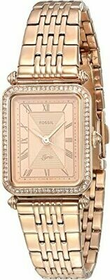 LDS R/C RECT FACE FOSSIL WATCH