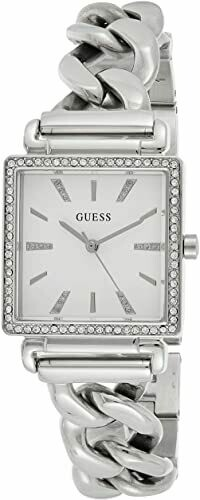 LDS S/C SQUARE FACE GUESS WATCH