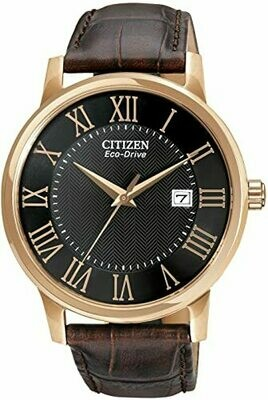 GTS CITIZEN  ECO DRIVE STAINLESS WATCH