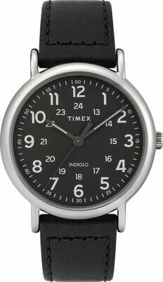 GTS BLACK DIAL TIMEX WATCH