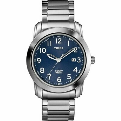 GTS S/C BLUE FACE TIMEX WATCH