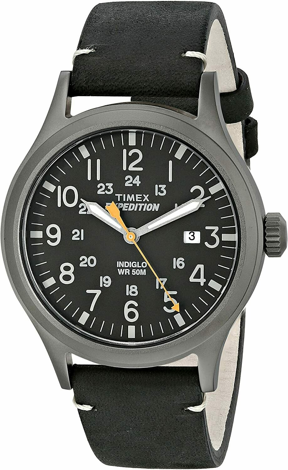 GTS STAINLESS EXPEDITION TIMEX WATCH
