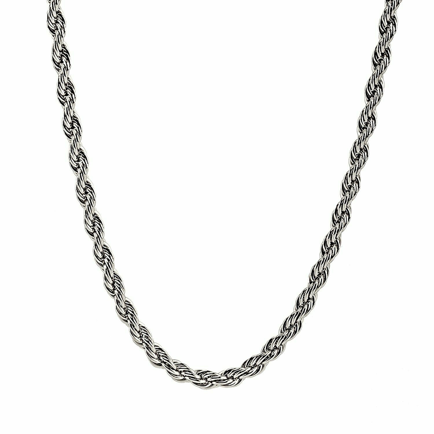 S.S. ROPE 8MM ROPE CHAIN